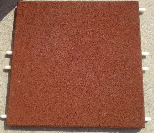 Elastic Safety Flooring 4cm thickness, with pins