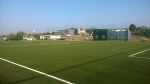 Artificial turf construction