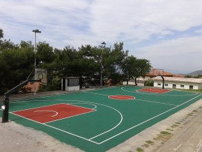 Construction of basketball court