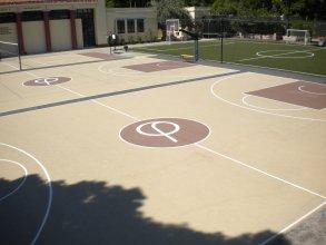 Κατασκευή γηπέδων μπάσκετ, βόλλεϋ, 5Χ5