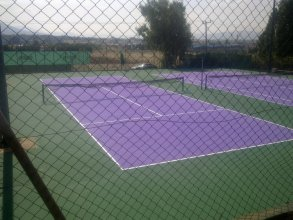 Ελαστικός τάπητας τέννις