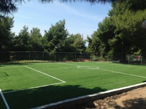 Construction of artificial turf for soccer fields