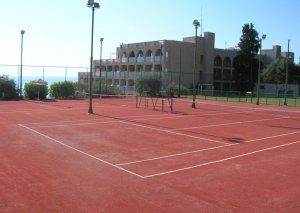 Συνθετικός χλοοτάπητας γηπέδων τέννις