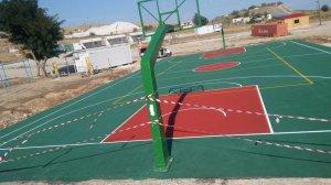Κατασκευη γηπεδου μπασκετ