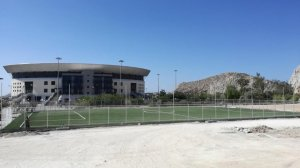 Κατασκευή γηπέδου ποδοσφαίρου στην Αθήνα