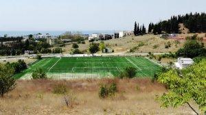 Κατασκευή γηπέδου ΤΕΦΑΑ Θεσσαλονίκης