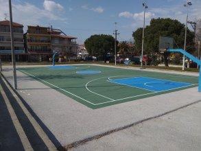 Ακρυλικό δάπεδο γηπέδου Basket