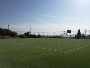 Κατασκευή γηπέδων τένις στο Neilson Retreat Beachclub