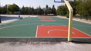 Κατασκευή γηπέδου Μπάσκετ με πιστοποιημένα υλικά προδιαγραφών (ITF)