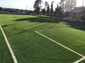 Κατασκευή γηπέδου ποδοσφαίρου με χλοοτάπητα