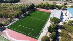 Κατασκευή γηπέδου ποδοσφαίρου με συνθετικό χλοοτάπητα υψηλής ποιότητας στην Λάρισα
