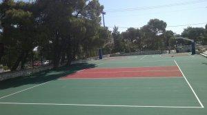 Ακρυλικό αθλητικό δάπεδο εξωτερικού χώρου