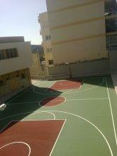 Κατασκευή γηπέδου μπάσκετ εξωτερικού χώρου, Συκιές Θεσσαλονίκης
