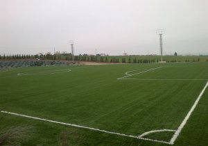 Construction of artificial turf PAE PAOK