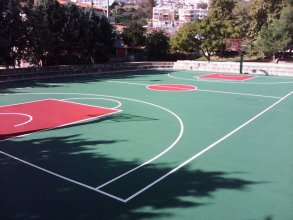 Acrylic flooring of basketball court, 2-3mm
