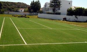 Γήπεδο τέννις με συνθετικό χλοοτάπητα ITF