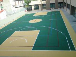 Κατασκευή γηπέδου  μπάσκετ-βόλλεϋ-τέννις