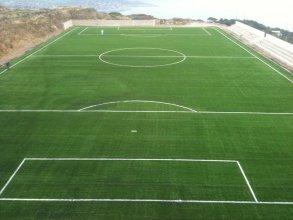 Κατασκευή συνθετικού χλοοτάπητα FIFA