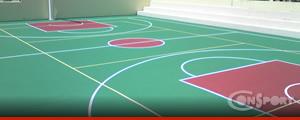 Ακρυλικά γήπεδα μπάσκετ, βόλλεϋ, τέννις, 2-3mm