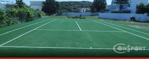 Συνθετικός χλοοτάπητας γηπέδων τένις
