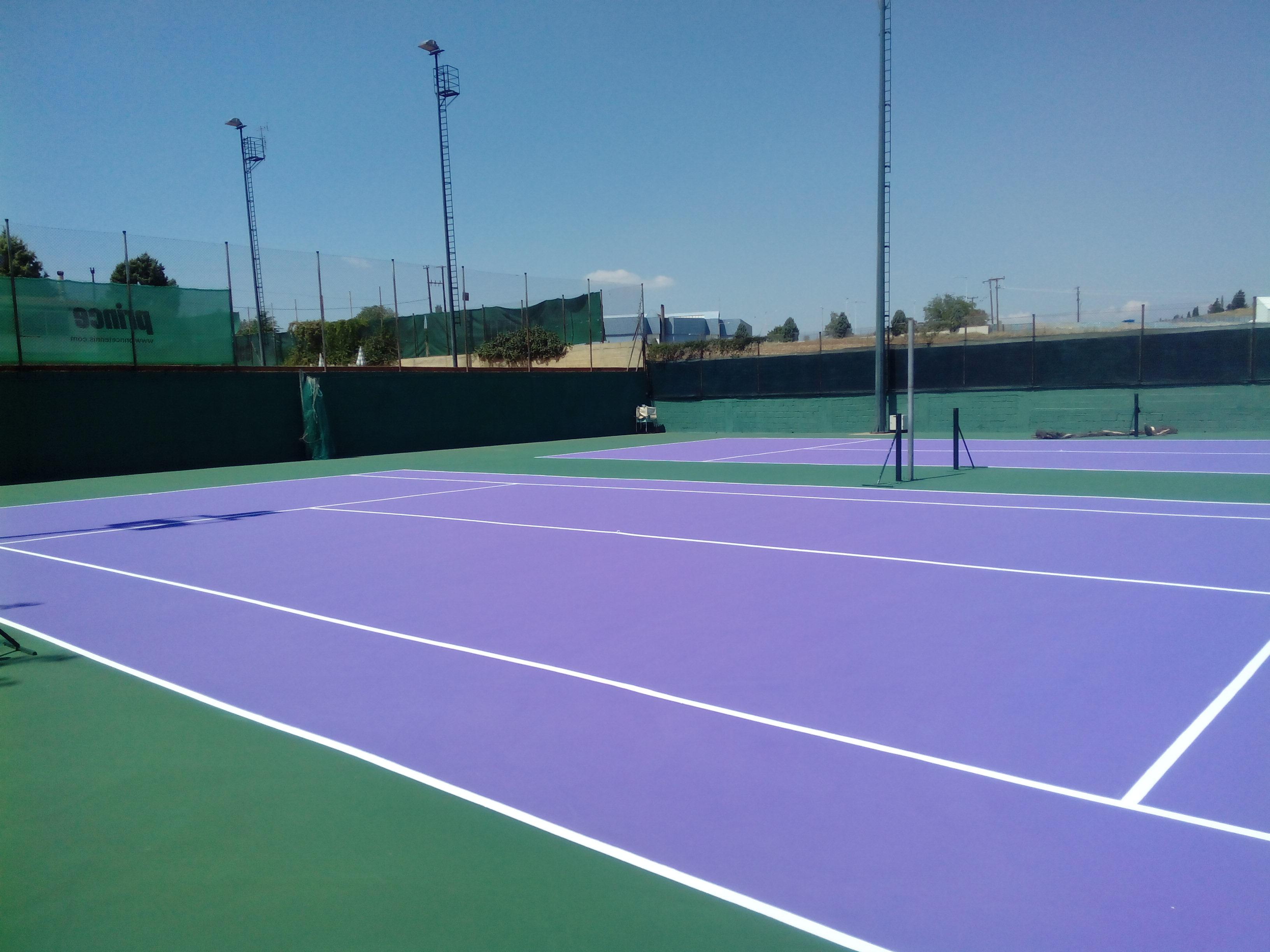 Κατασκευή τέννις