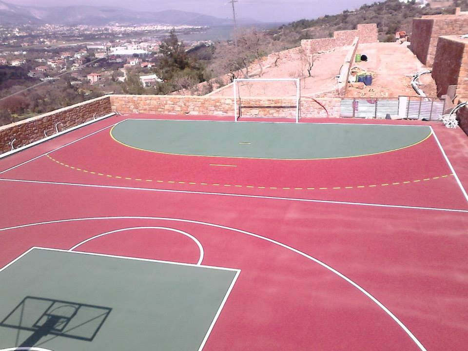 Ακρυλικό αθλητικό δάπεδο
