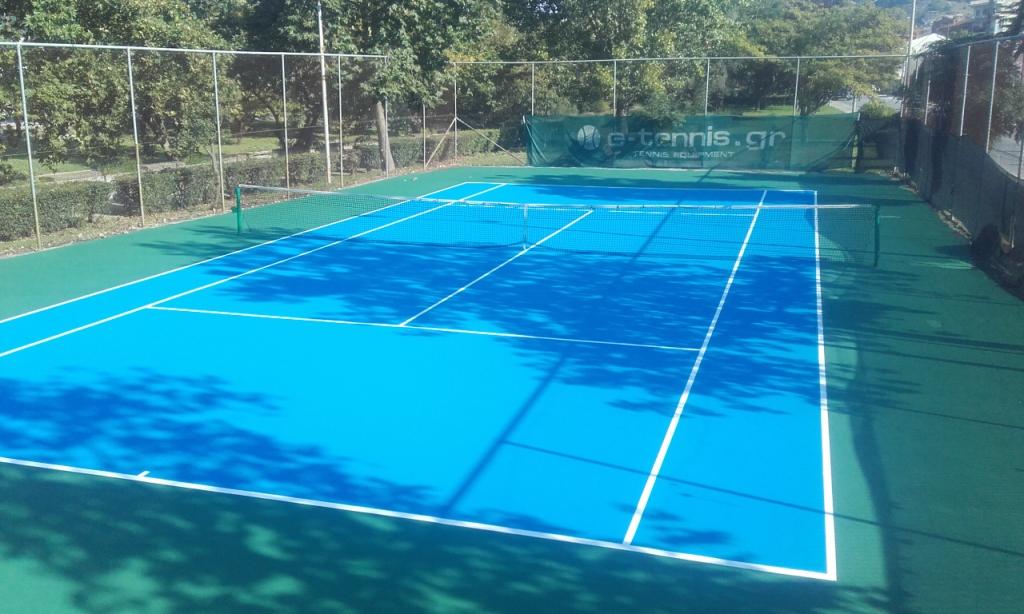 Κατασκευή γηπέδου τένις