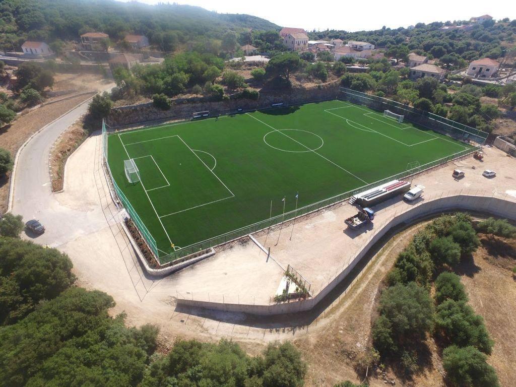 Photon1 Κατασκευή γηπέδου ποδοσφαίρου