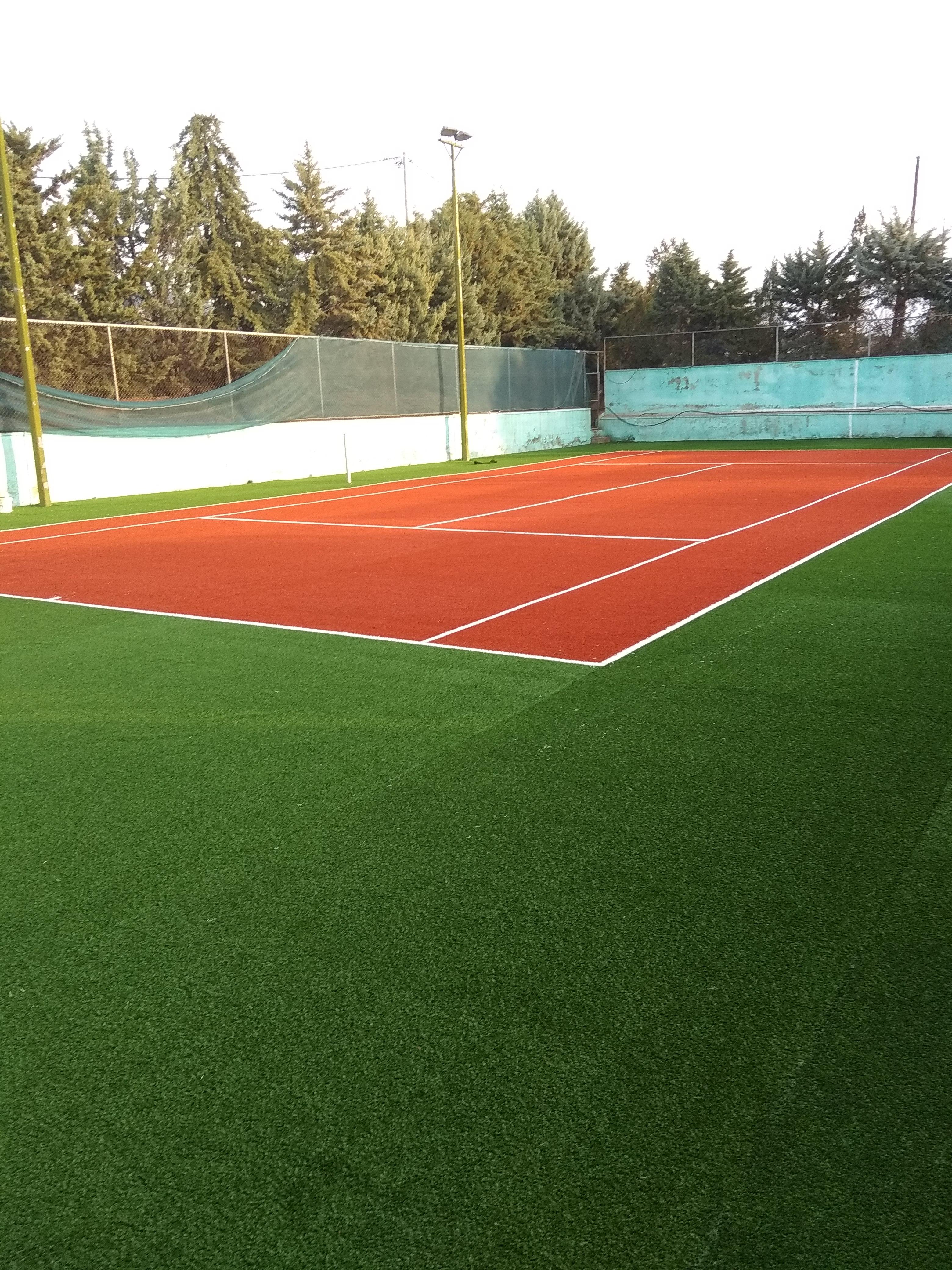 Κατασκευή γηπέδου τένις στην Καβάλα