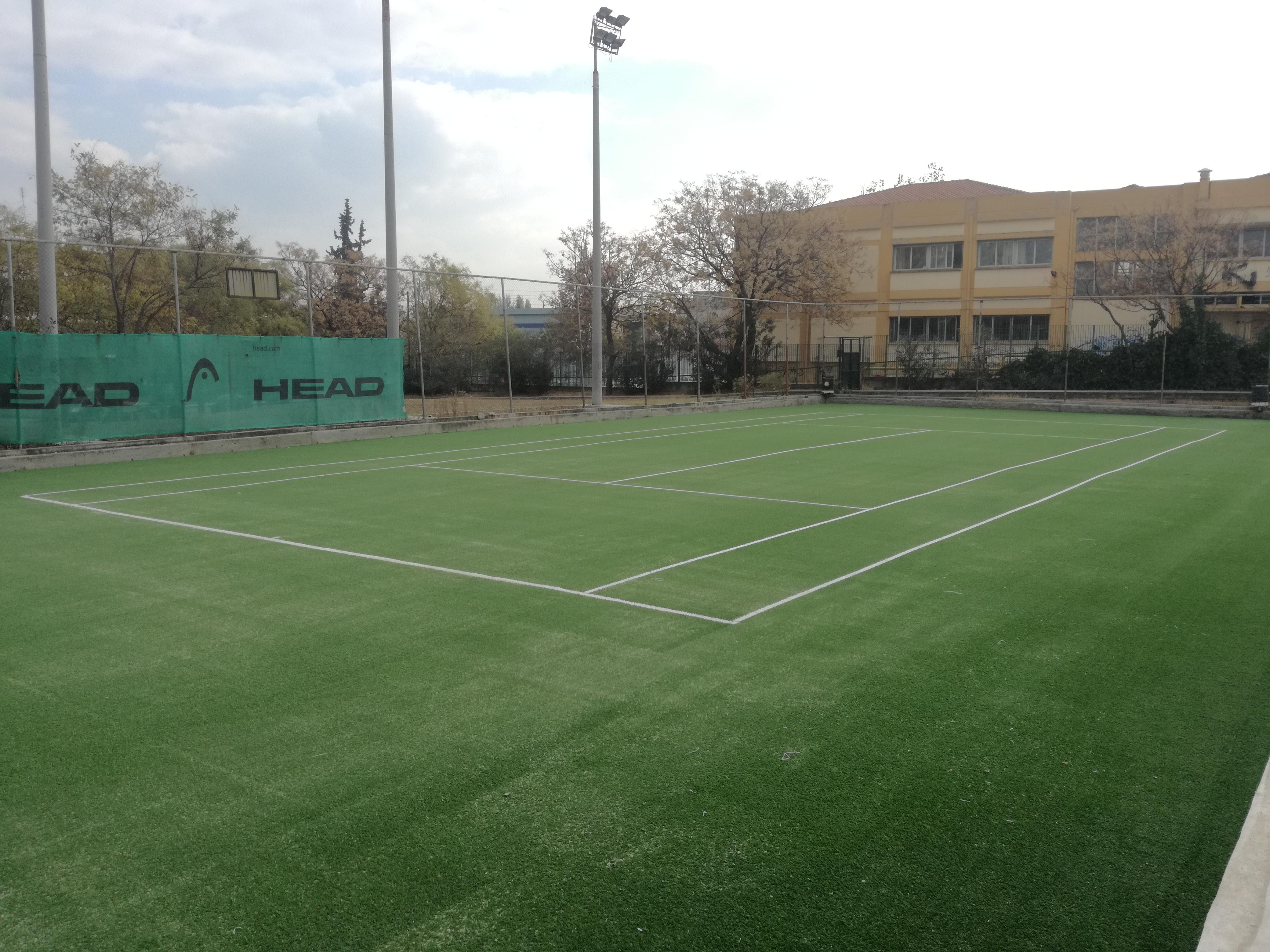 Τένις Κατασκευή