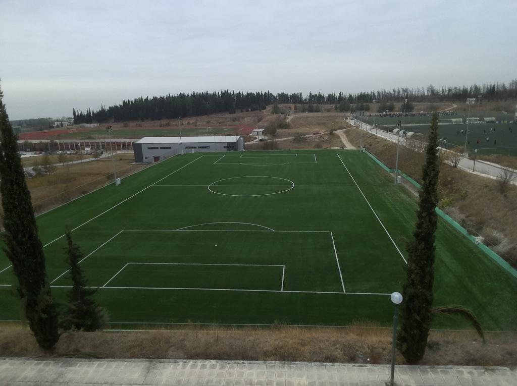 Κατασκευη γηπεδου ποδοσφαιρου