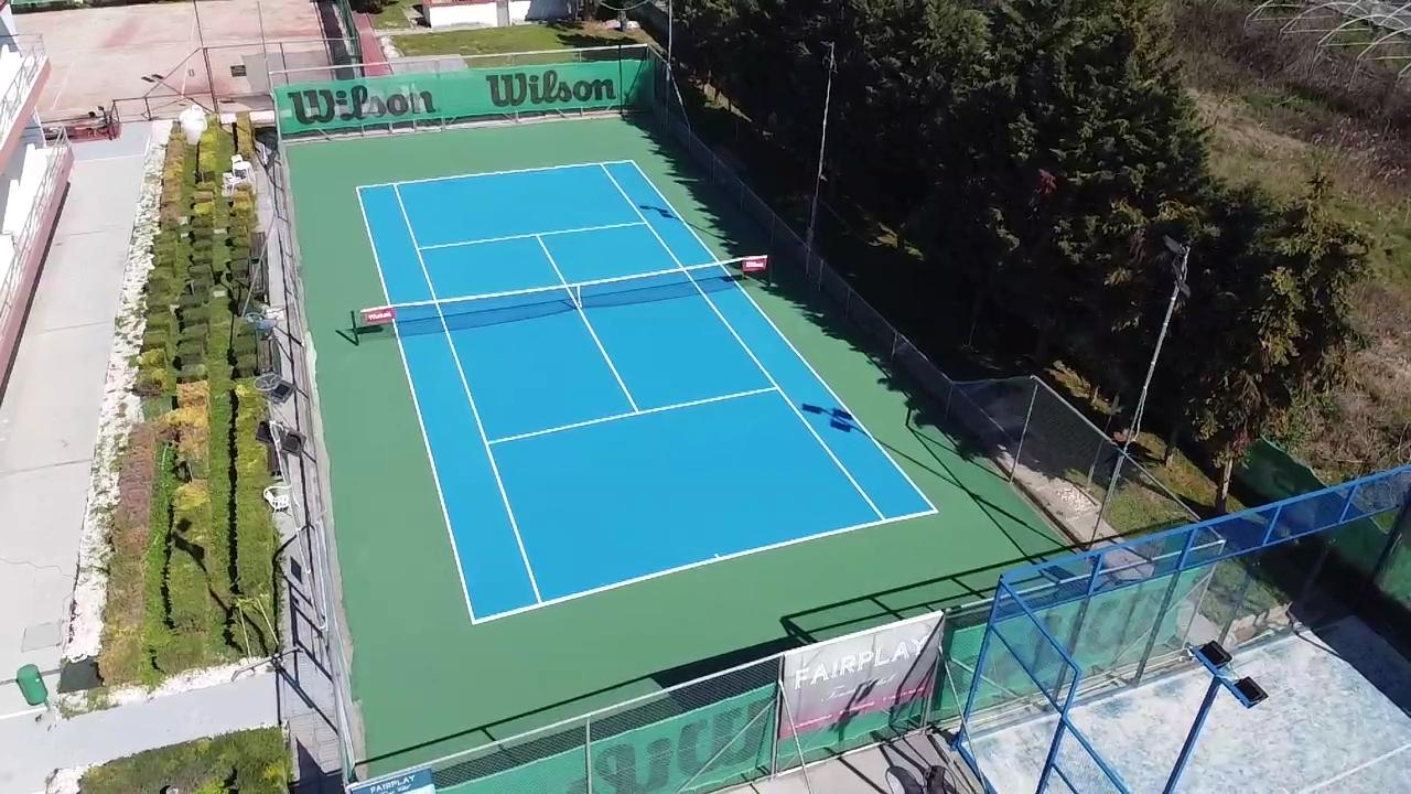 Συντήρηση και ανακατασκευή γηπέδου τένις
