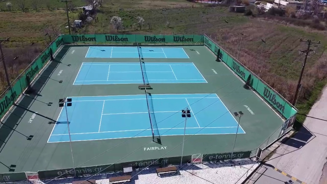 Συντήρηση και ανακατασκευή γηπέδων τένις