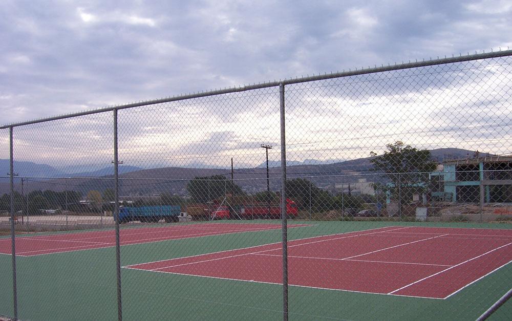 Κατασκευή γηπέδων τέννις