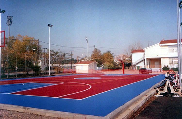 Μπάσκετ ακρυλικός τάπητας εξωτερικού χώρου 2-4mm