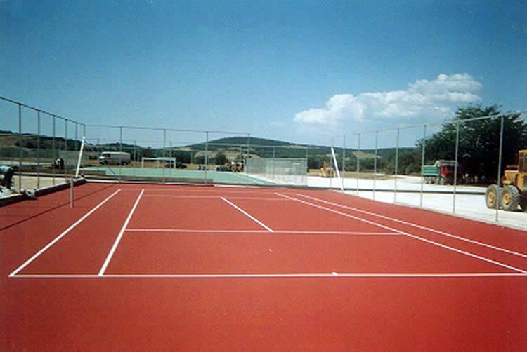 Τένις ακρυλικός τάπητας  2-4mm εξωτερικού χώρου