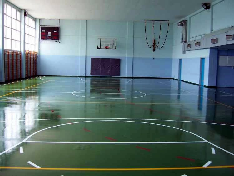 Μπάσκετ - χαντμπολ - βόλεϊ πολυουρεθανικος τάπητας 10mm εσωτερικού χώρου