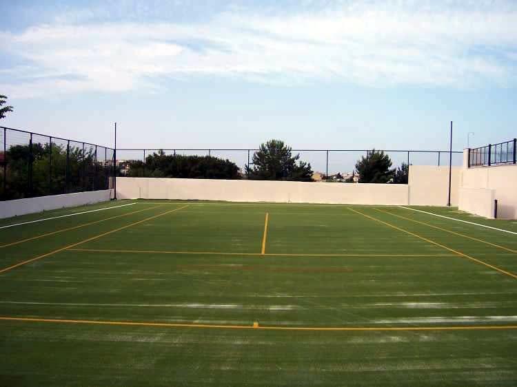 Κατασκευή γηπέδου τέννις, συνθετικος χλοοταπητας 22mm