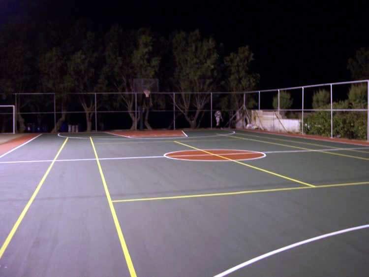 Μπάσκετ - τένις  ακρυλικός τάπητας εξωτερικού χώρου 8mm